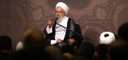 شبہای قدر میں حضرت آیة اللہ العظمی مکارم شیرازی (دام ظلہ) کی تقریر