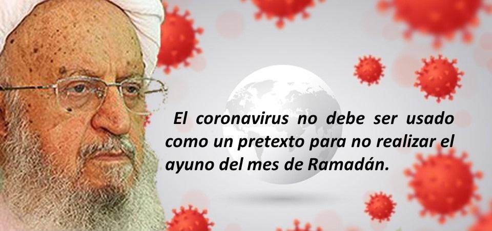Solo los enfermos están exceptuados del ayuno. El coronavirus no debe ser usado como un pretexto para no realizar el ayuno del mes de Ramadán.