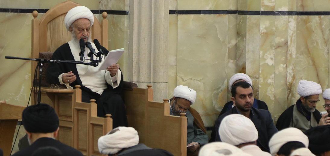 Ayətullah əl-uzma Məkarim Şirazi insan hüquqları müdafiəsi iddiasında olanların sükutunu tənqid etdi