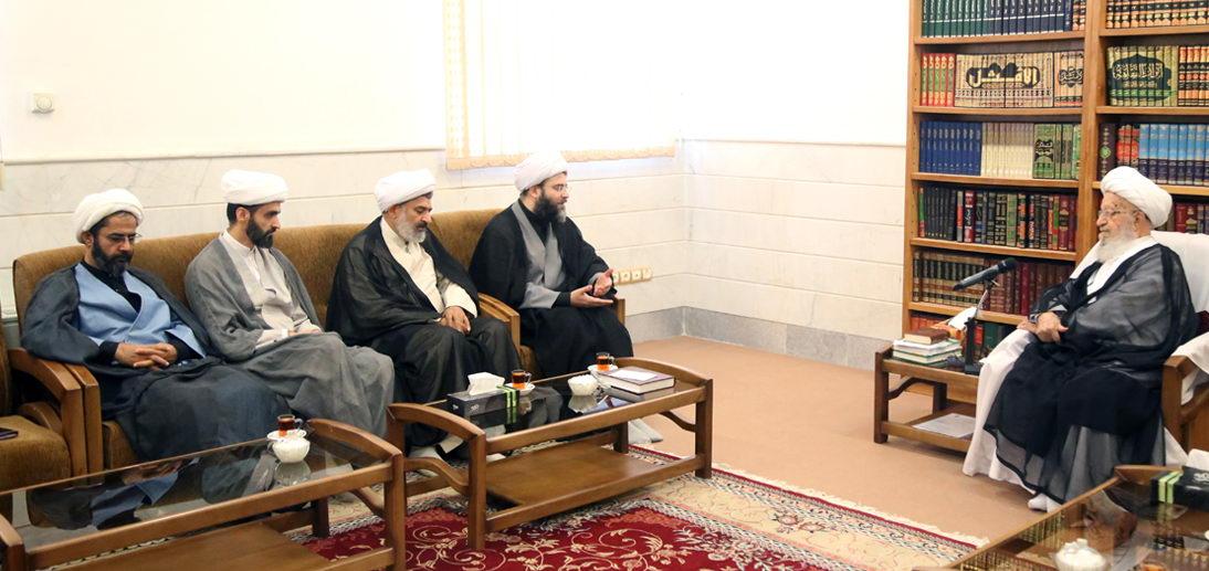 تاکید حضرت آیت الله العظمی مکارم شیرازی بر بهرهگیری سازمان تبلیغات از ظرفیت عظیم حوزه های علمیه