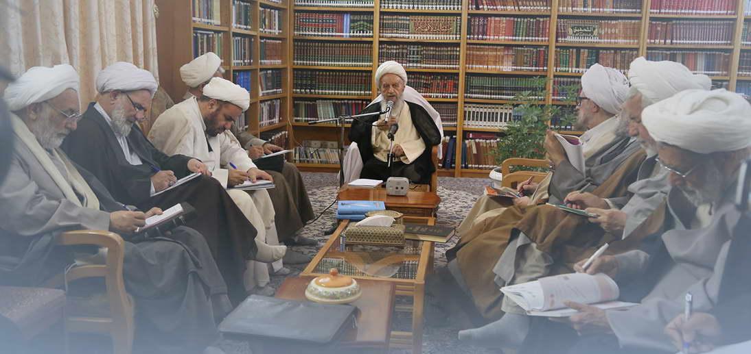 برگزاری اولین جلسه درس خارج فقه حضرت آیت الله مکارم شیرازی در سال تحصیلی 98-99