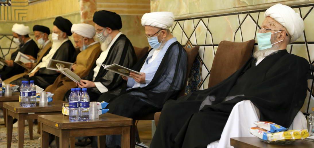 گزارش تصویری از مراسم هفتمین روز درگذشت مرحوم حاج عزیز مکارم رحمة الله علیه