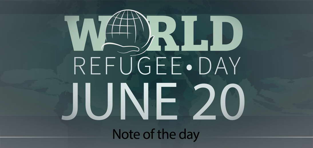 The calendar marks June 20th, the World Refugee Day, hereupon; we will take a look at the issue as viewed in Islam