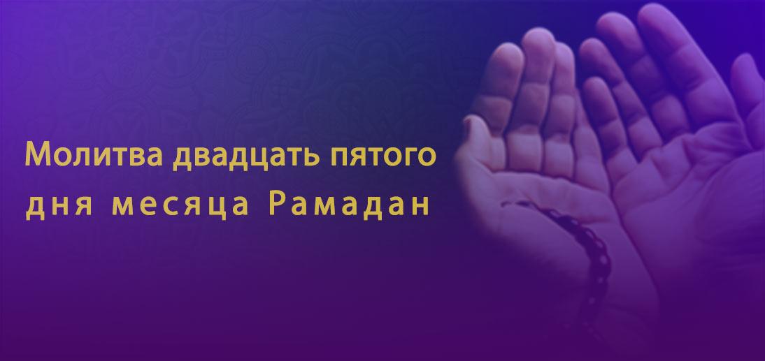 Аятолла Макарем Ширази. Толкование молитвы двадцать пятого дня месяца Рамадан