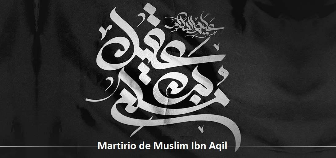 Lecciones instructivas de la historia de Muslim Ibn Aqil (P)