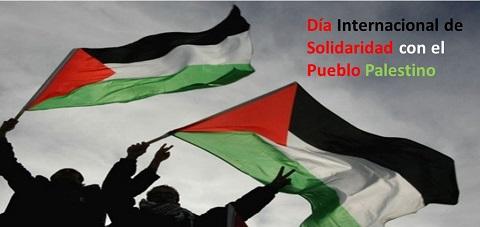 El Día Internacional de Solidaridad con el Pueblo Palestino