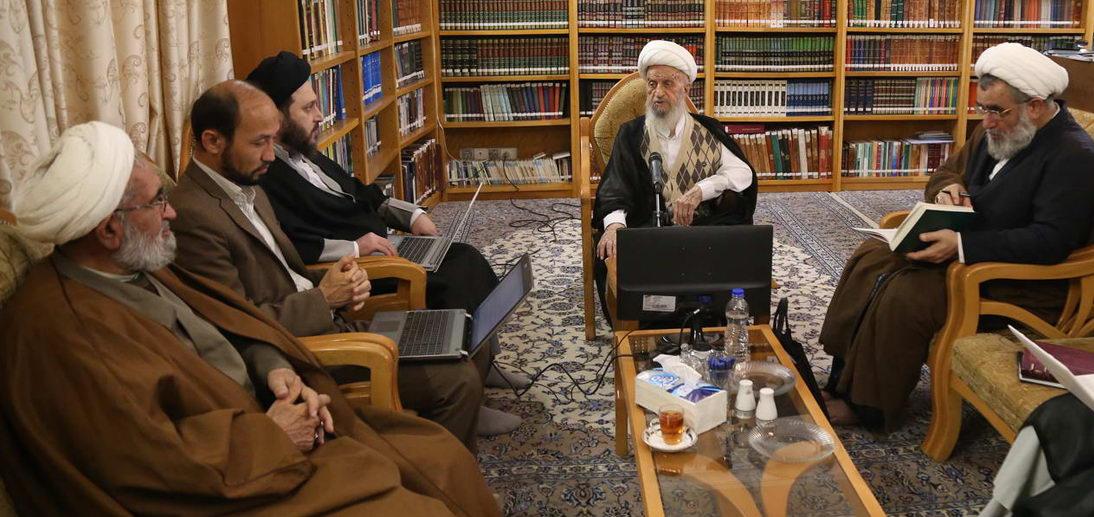 گزارش تصویری جلسه تفسیر صحیفه سجادیه (عرفان اسلامی)