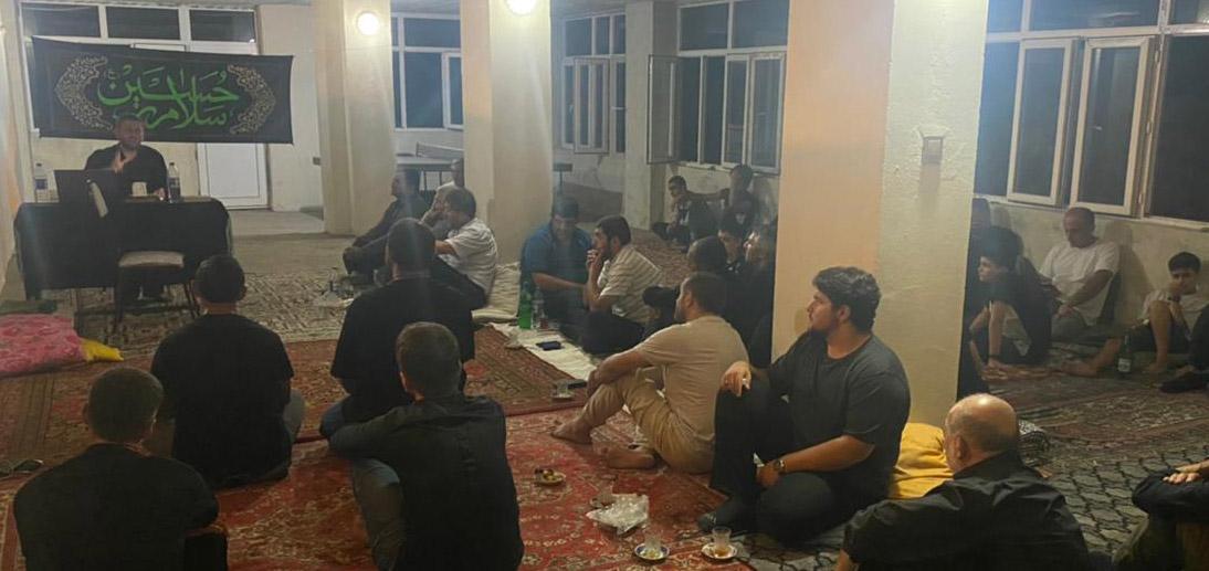 گزارش تصویری پیوستن شیعیان آذربایجان به پویش #عهد_اربعینی