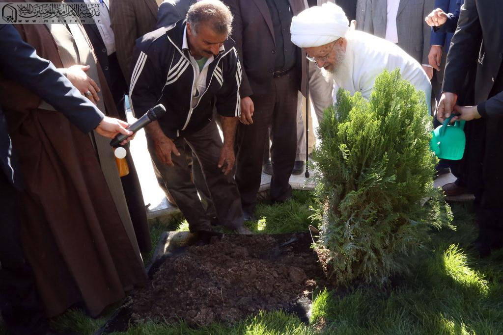 Atətullah Məkarim Şirazi ağacəkmə -07