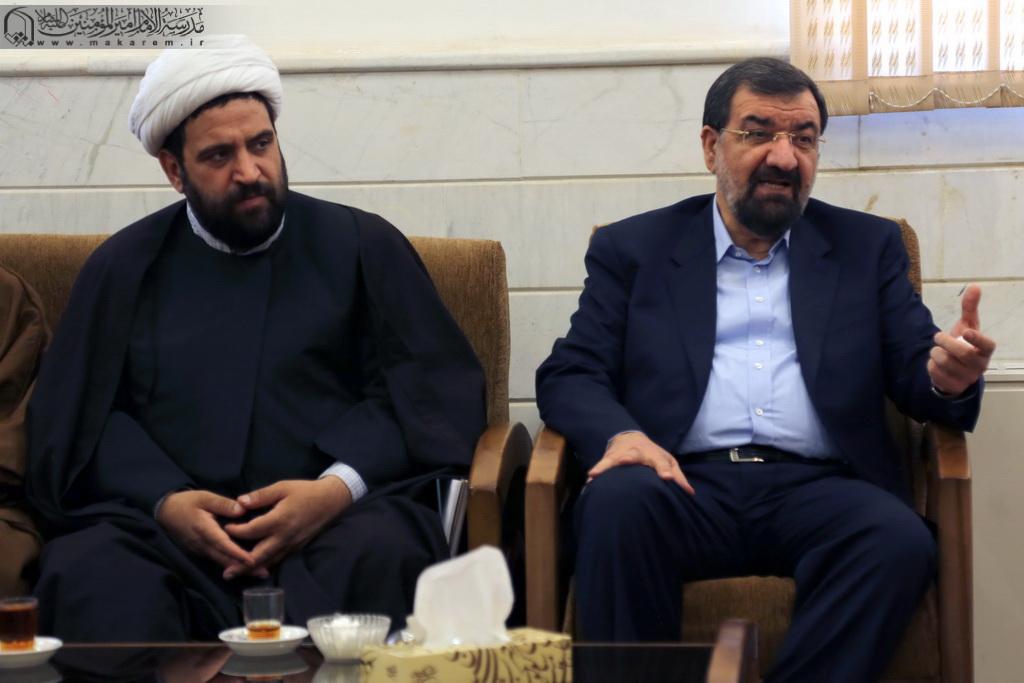 Doktor Möhsün Rizayinin Ayətullah əl-uzma Məkarim Şirazi ilə görüşü-06.