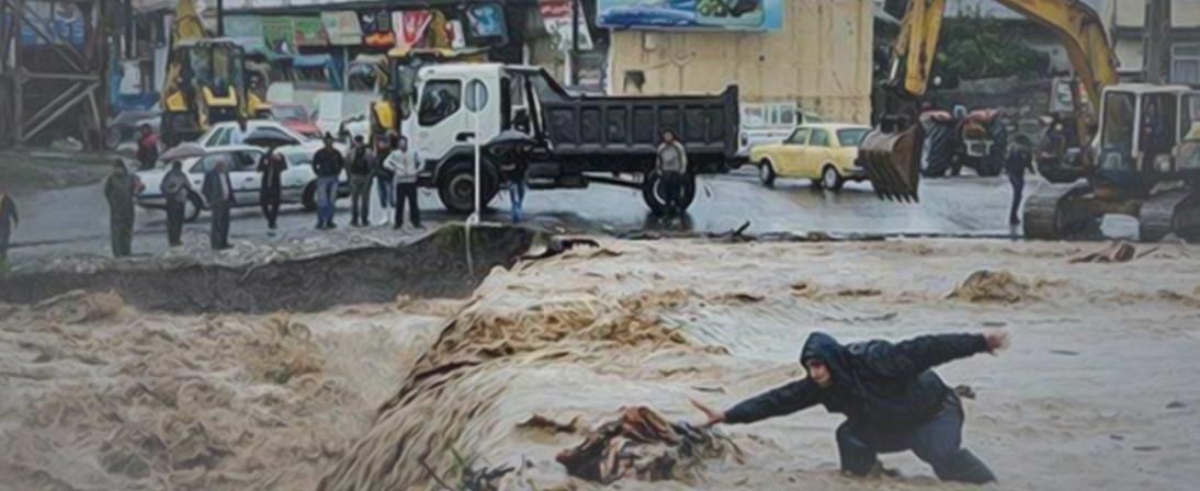 بیانات معظم له در مورد سیلاب های 1398