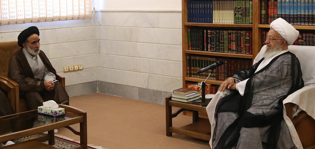 قدردانی حضرت آیت الله العظمی مکارم شیرازی از فعالیت های مرکز خدمات حوزه های علمیه