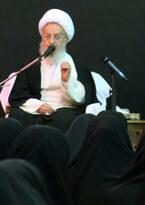 روضه حضرت زهرا(س)آیت الله العظمی مکارم شیرازی + مداحی