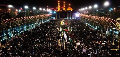Пешая процессия в Арбаин причина величия церемоний по Имаму Хусейну (А).