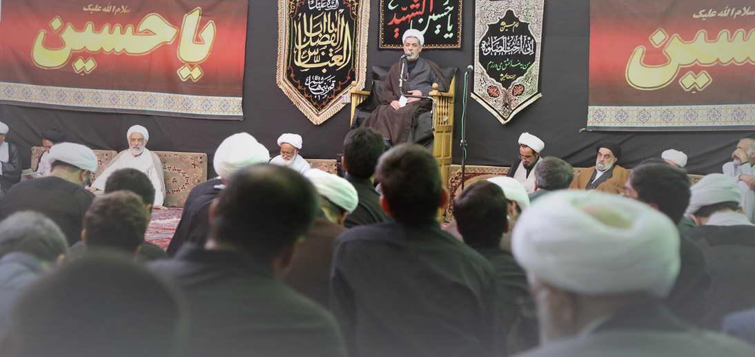 گزارش تصویری مراسم عزاداری دهه اول محرم الحرام 1441