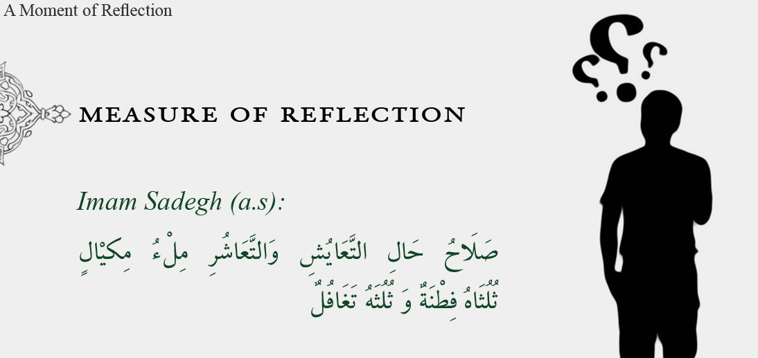 THE MEASURE OF REFLECTION