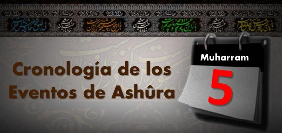 Acontecimientos del 5to día del mes de Muharram
