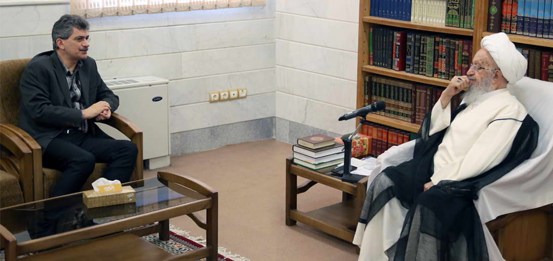 حضرت آیت الله العظمی مکارم شیرازی در دیدار با سفیر ترکیه