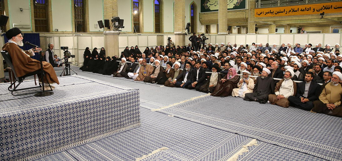"Supreme Leader's meeting with participants in ""The International Congress on the Role of the Shi'a School in the Emergence and Development of Islamic Sciences"