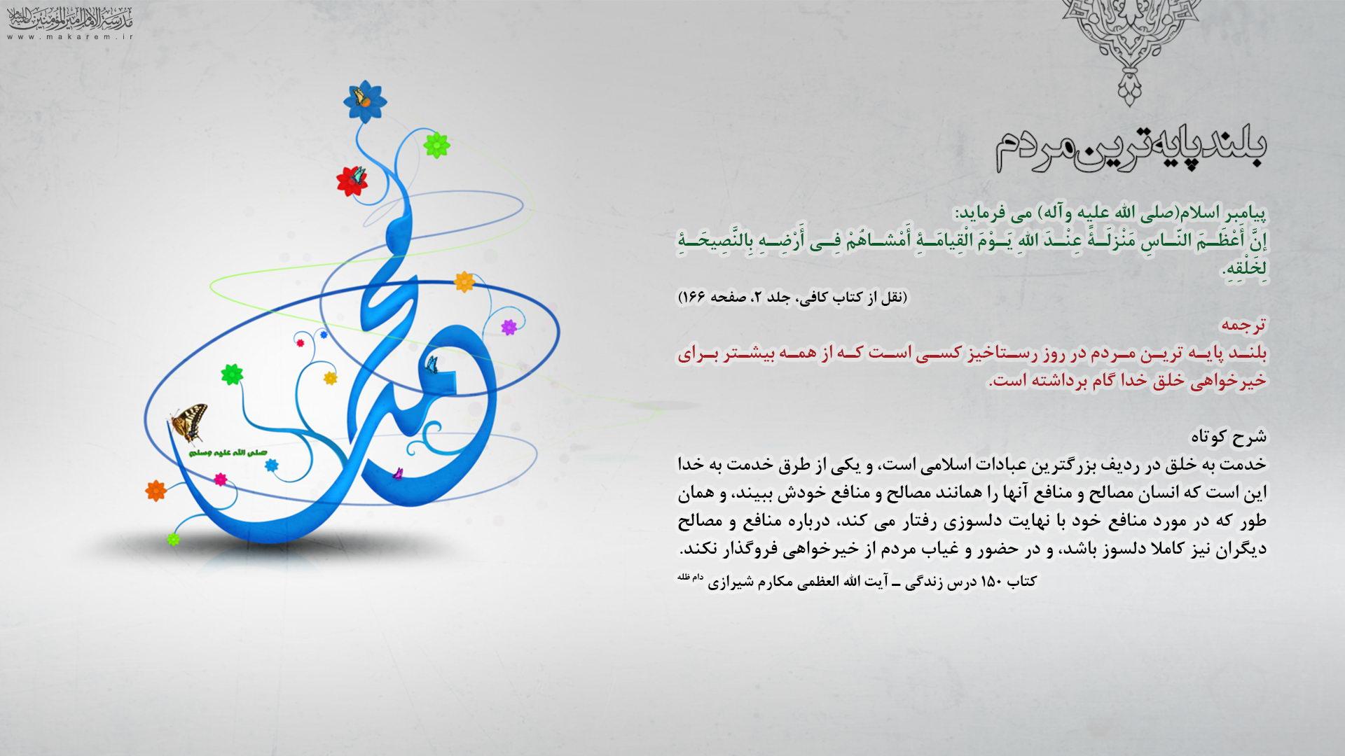 بلند پایه ترین مردم-مدرسه الامام امیر المومنین (ع)