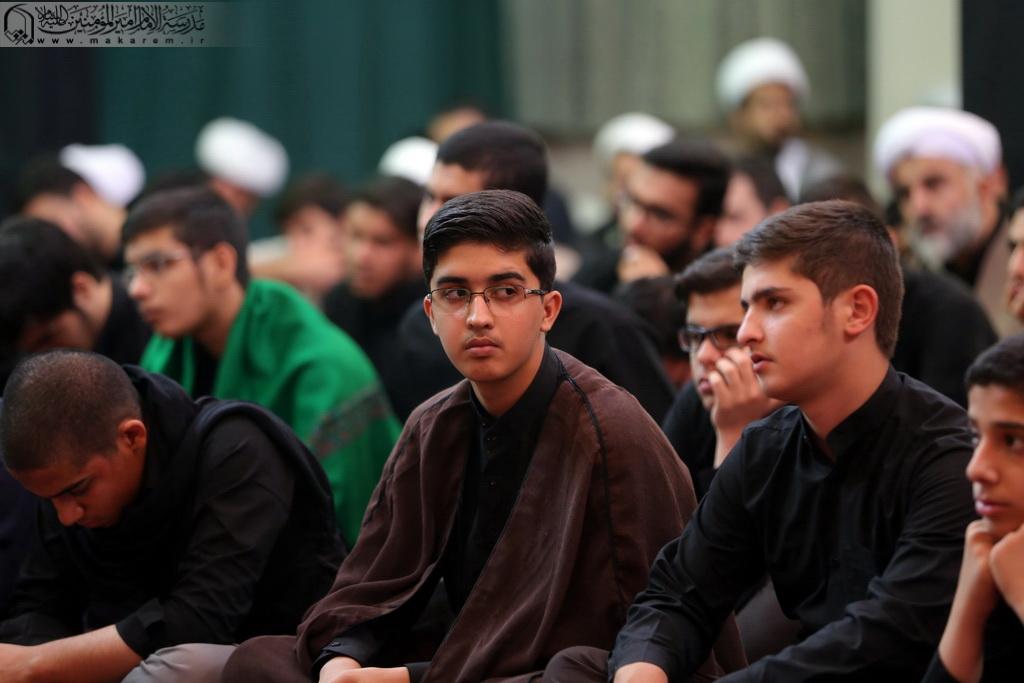 مراسم عزاداری دهه اول محرم 1438-مدرسه الامام امیر المومنین (ع)