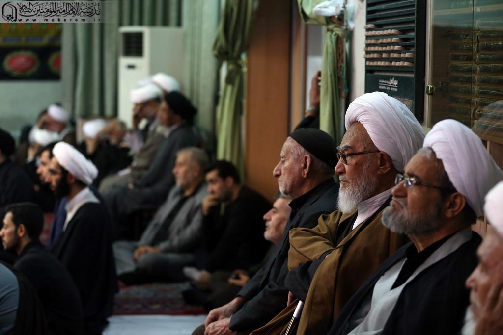 مراسم عزاء أبي عبد الله الحسين عليه السلام-مدرسه الامام امیر المومنین (ع)